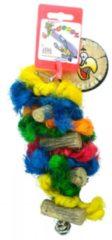Birrdeeez Vogelspeelgoed Sekelbos Touw RT1 17,5 cm