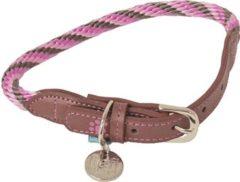 Lief! Lifestyle Lief! halsband voor hond girls beige / roze 55x1 cm