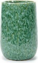 Serax Bloempot Sierpot Groen-Turquoise H 24cm D 16cm