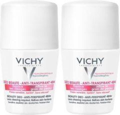 Vichy Deodorant Gevoelige Huid Beauty Roller - 2 x 50 ml