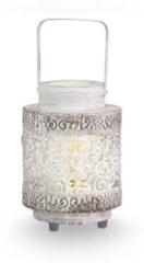 EGLO Vintage Talbot - Tafellamp - 1 Lichts - Wit - Patina Zwart