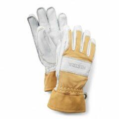 Hestra - Fält Guide Glove 5 Finger - Handschoenen maat 8 grijs/beige/wit
