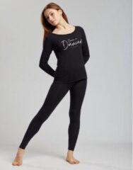 Temps Danse - Vixum - Legging - Dames - Yogabroek - Sportbroek - Dansbroek - Viscose - Zwart - L