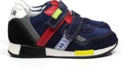 Develab 41389 jongens sneaker klittenband blauw, ,30