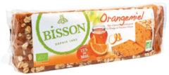 Bisson Orangemiel honingkoek met sinaasappel voorgesneden 300 Gram