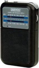 Daewoo DRP-8 Persoonlijk Analoog Zwart radio