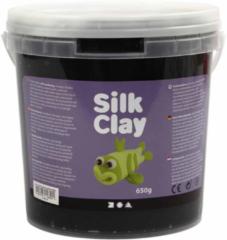 Silk Clay, zwart, 650 gr