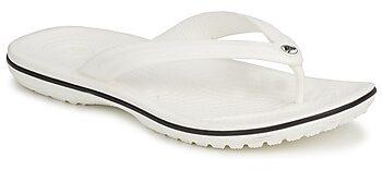 Afbeelding van Witte Crocs Crocband Flip Slippers Senior