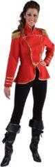 Magic by freddy Leger & Oorlog Kostuum | Cavalerie Uniform Jas Rood Vrouw | XL | Carnaval kostuum | Verkleedkleding