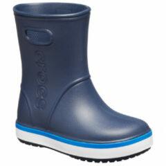 Crocs - Kid's Crocband Rain Boot - Rubberen laarzen maat C8, blauw/grijs