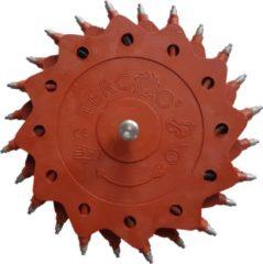 Rode Tercoo Roterende Straler - Double Disk - Schuurmachine - Schuurpapier - Verf Verwijderen