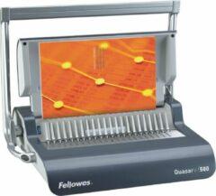 Transparante Fellowes inbindmachine Quasar plus plastic bindrug, 500 vel