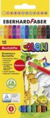 Eberhard Faber EF-514817 Kleurpotloden Met Gum Etui A 12 St.