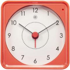 NeXtime Alarmklok nXt Nathan 7.3 x 7.3 x 3.3 cm oranje