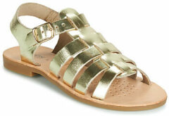 Gouden Sandalen J Sandal Violette Gi J929GB by Geox
