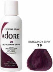 Bordeauxrode Adore Shining Semi Permanent Hair Color Burgundy Envy-79