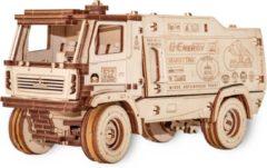 Eco-wood-art 3D puzzel Modelbouw pakket Maz 5309rr 24 Cm Hout Naturel 278-delig