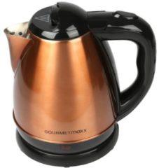 Gourmetmaxx Design-Wasserkocher, schwarz/kupfer GOURMETmaxx schwarz/kupfer