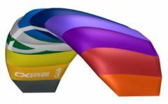 Cross Kites CrossKites Air 1.5 Rainbow R2F - Matrasvlieger - Beginner - Multi colour - 2 lijns - Polsbanden