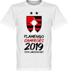Retake Flamengo 2019 Copa Libertadores Champions T-Shirt - Wit - M