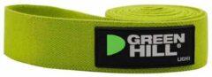 Green Hill Groen Hill Fitness Elastiek - Textiel - 102cm - Licht - Groen
