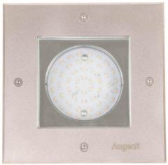 Franssen Verlichting Wandlamp inbouw vierkant gx53 - RVS