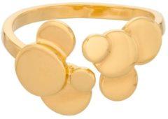 Pernille Corydon Sheen ring met gouden plating R-315-GP
