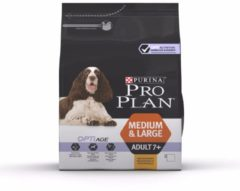 Pro Plan Medium/Large Adult 7+ - Kip Met Optiage - Hondenvoer - 3 kg