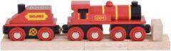 Bigjigs Toys BigJigs Rode trein