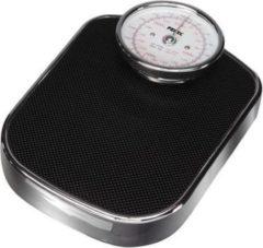 Perel Personenweegschaal Retro, max 160 kilo, chroom/zwart