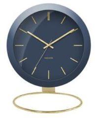 Karlsson Tafelklokken Table clock Globe Design Armando Breeveld Blauw