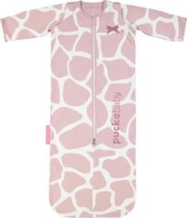 Roze Puckababy Baby-/peuterslaapzak Bag 4 Seasons - 6 maanden tot 2,5 jaar | 100 cm - Giraph Candy