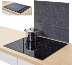 Zeller Present XL-Herdblende-/Abdeckplatte »Granit«, anthrazit, 56 x 50 cm