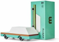 Groene Candylab Toys Candycars - Houten Design Speelgoedauto - Teal Wagon