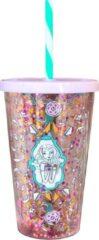 Blauwe Jill Schirnhofer Jill - Milkshake beker 0,5 L - Glitter