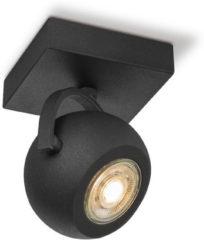 Home sweet home LED opbouwspot Nop ↔ 9,5 cm - zwart