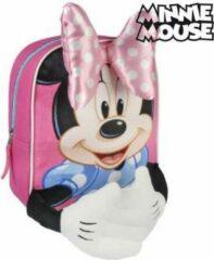 Roze Diesel DISNEY Rugzak voor kinderen Minnie