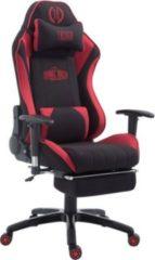 CLP Racing Bürostuhl SHIFT XL mit Stoffbezug l Gamingstuhl mit Leichtlaufrollen und einer max. Belastbarkeit bis 150 kg l Höhenverstellbarer Drehstuhl
