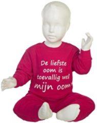 Roze Fun2Wear Pyjama De liefste Oom is toevallig wel mijn oom Pink maat 116