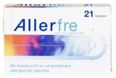 Allerfre 10 mg loratadine - Hooikoorts & Allergie Tabletten - 21 stuks