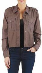 Bruine Overhemd Brigitte Bardot BB43077