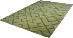Kayoom laagpolig vloerkleed met Retro-Design 80 x 150 Groen