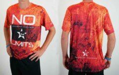 Oranje Bones Sportswear Heren T-shirt No Limits maat M