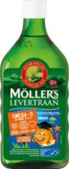 Möller's Omega-3 Mollers Omega-3 tutti frutti - 250ml - Visolie - Voedingssupplement