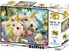 Prime3D 3D Image Puzzel - Unicorn Selfie (100)