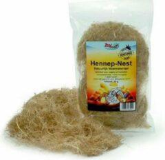 Beeztees Zoobest hennep nestmateriaal - knaagdier - 30 gram