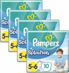 Apple Pampers Splashers Pants Maat 5/6 - 4 x 10 Zwemluiers Voordeelverpakking