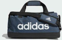 Adidas Performance sporttas Linear Duffel S donkerblauw/zwart/wit