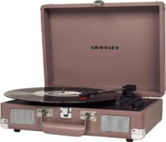 Crosley Cruiser Deluxe platenspeler in koffer purple ash