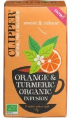 Clipper Orange & Turmeric Infusion (20st)